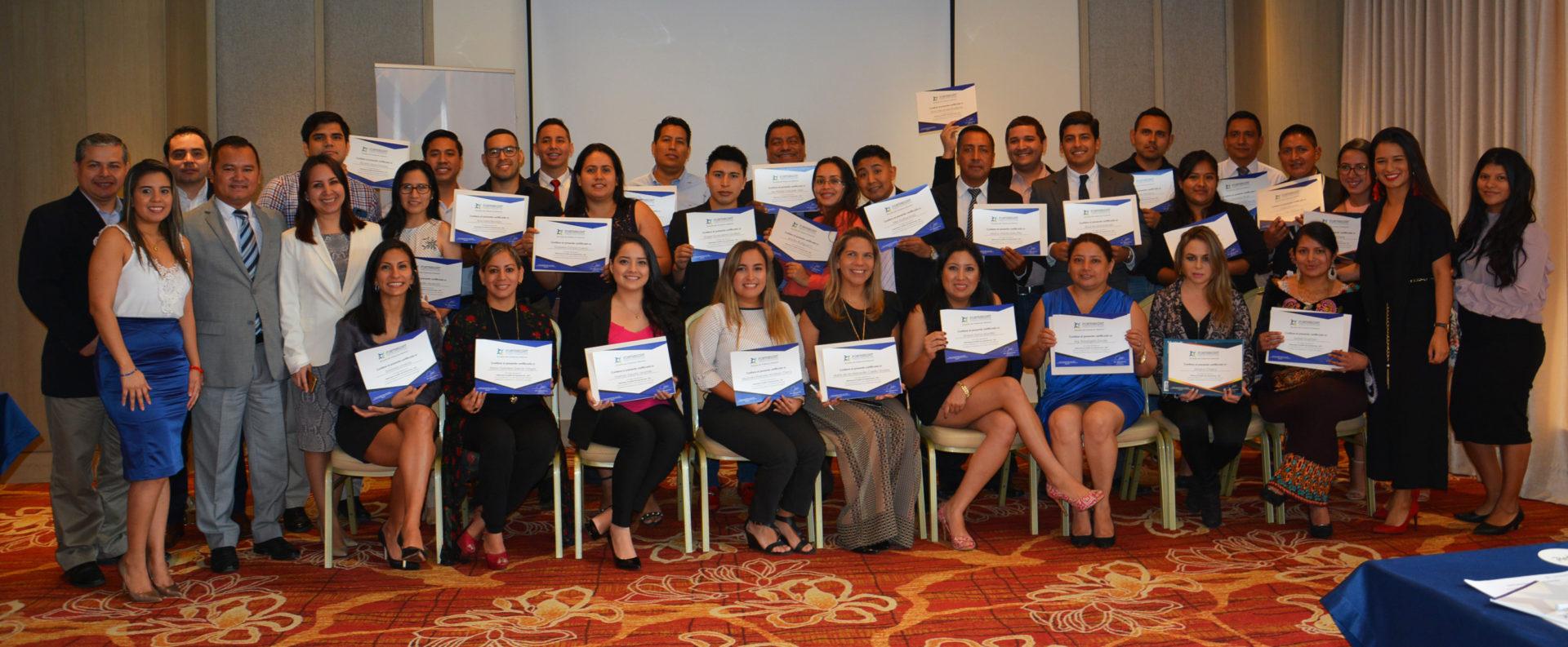 Ceremonia de Cierre del Diplomado en Gestión de Importaciones DGI – Guayaquil y Cuenca