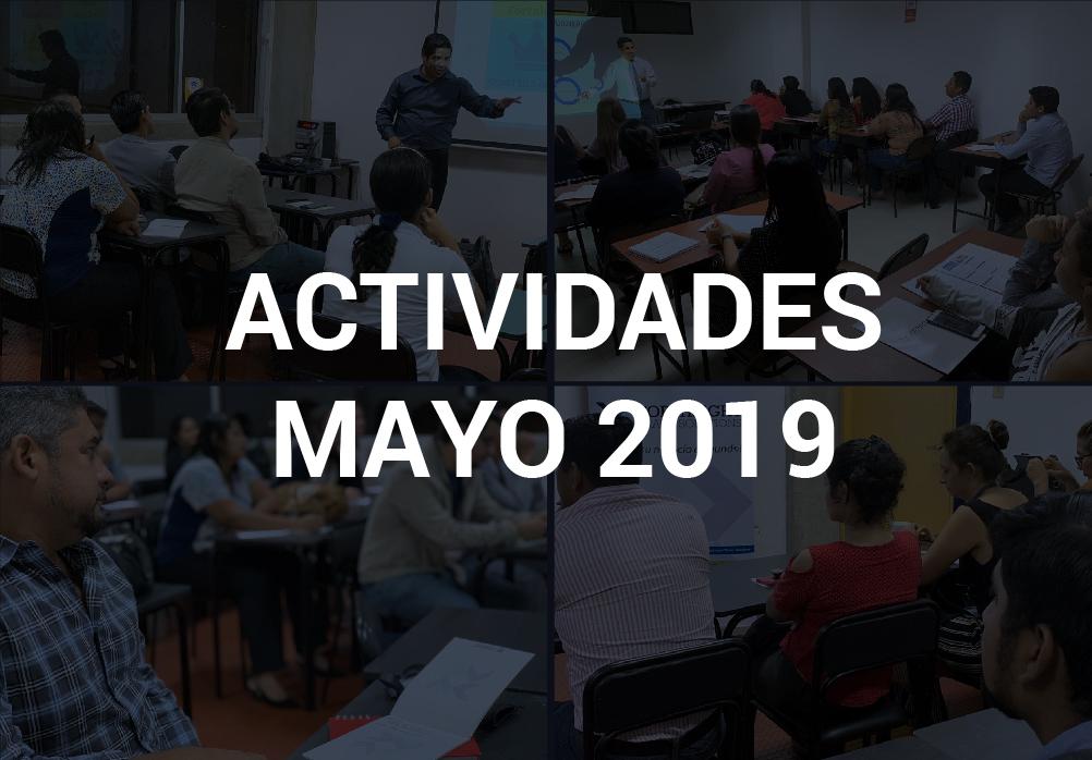 Boletín de Actividades – Mayo 2019