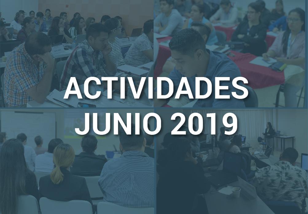 Boletín de Actividades – Junio 2019