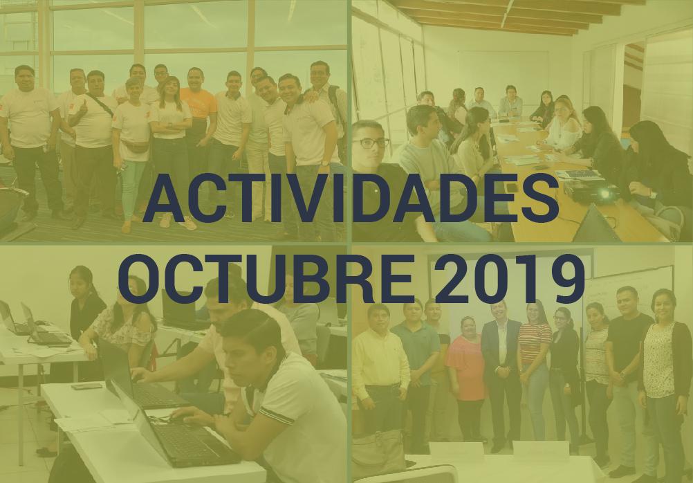 Boletín de Actividades – Octubre 2019