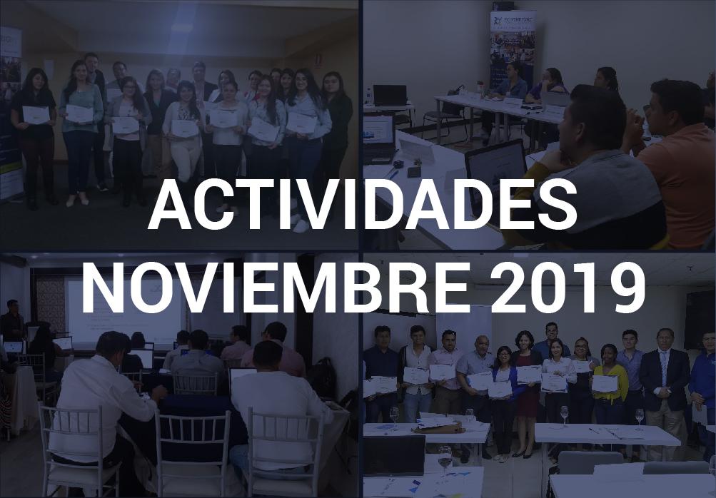 Boletín de Actividades – Noviembre 2019