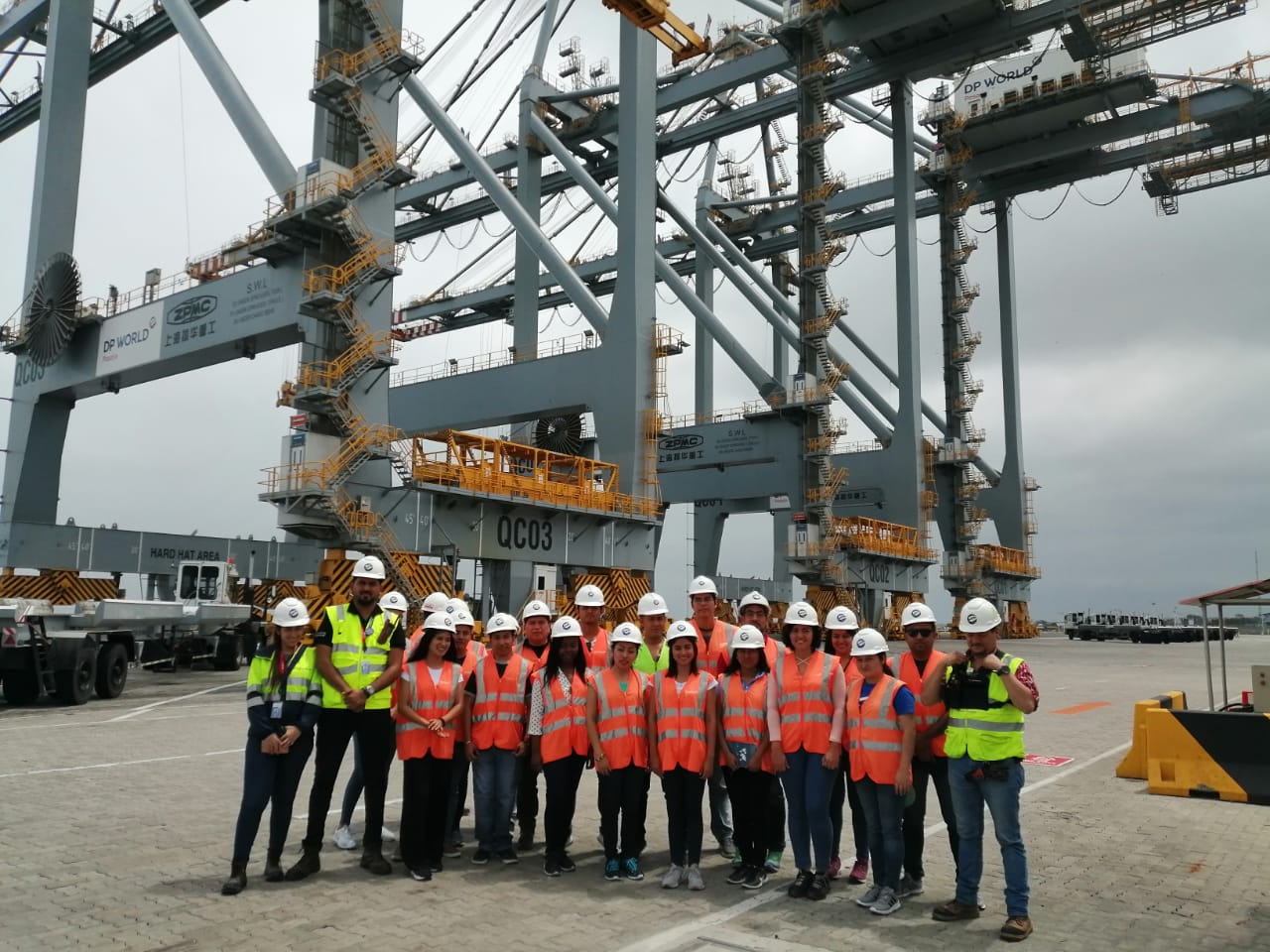 Actividad Experiencial – Visita al Puerto DP World Posorja