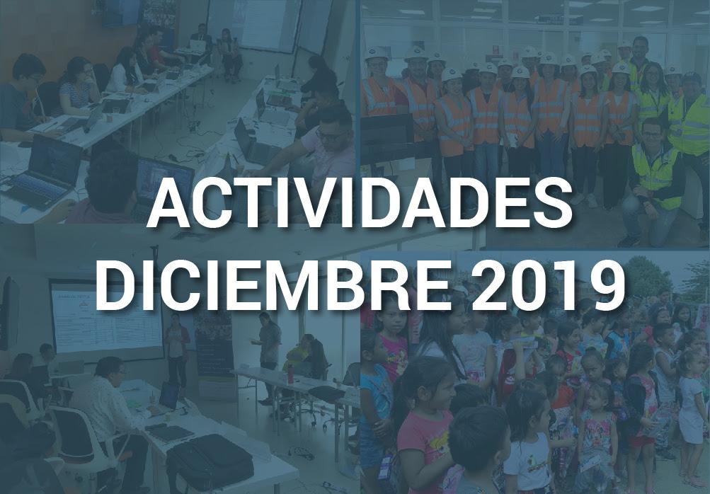 Boletín de Actividades – Diciembre 2019