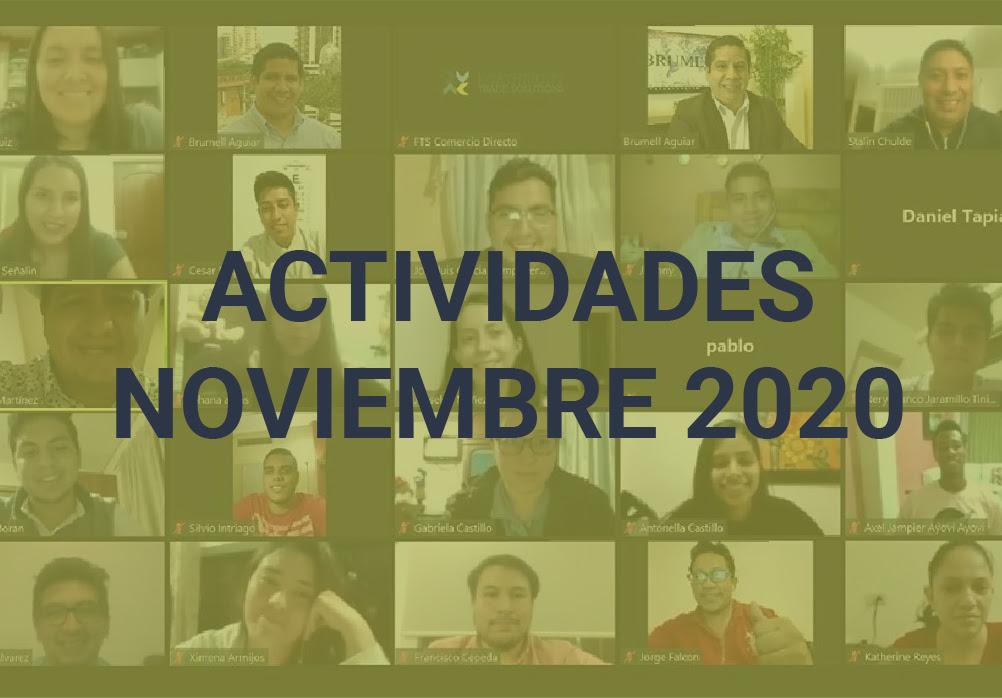 Boletín de Actividades – Noviembre 2020