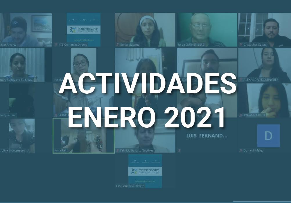 Boletín de Actividades – Enero 2021